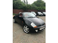 2005 Ford Street ka convertible 1.6+57k+red leather seats+new m.o.t
