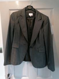 Next suit size 14 trousers, size 12 jacket