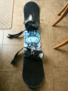Firefly snowboard with bindings 130cm