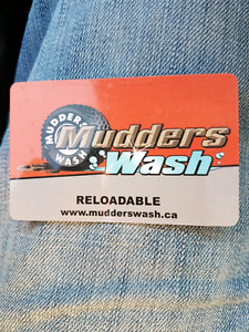 Mudders Wash Gift Card   $450.00  for $225.00