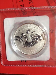 2015 $20 FIFA Women's World Cup - Silver Commemorative West Island Greater Montréal image 3