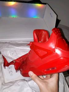 Jordan 4lab red size 9