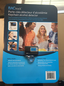 Key Chain Alcohol Detector