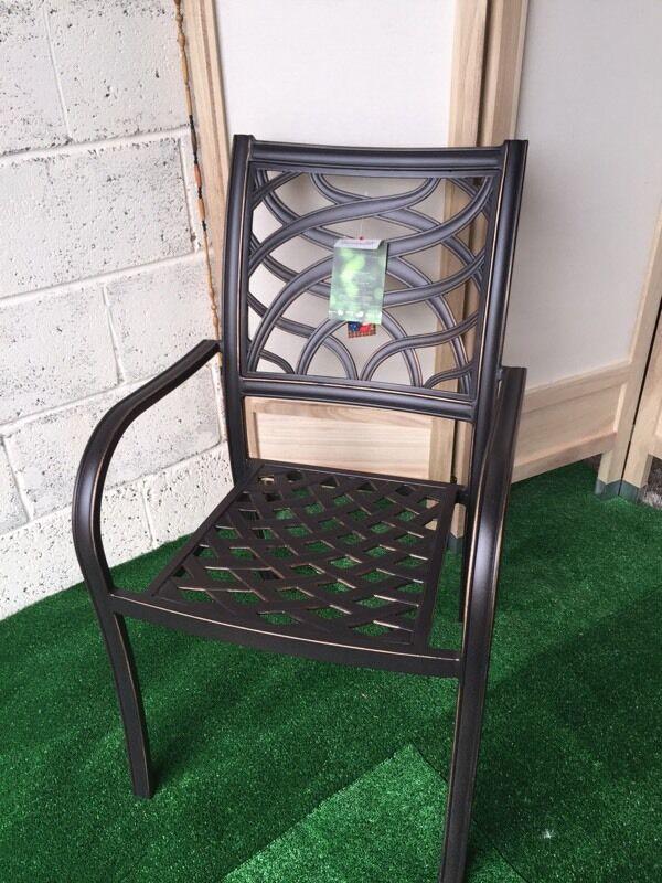 New Hartman Ripley Metal Garden Chair