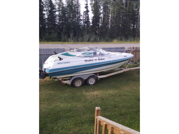Used 1995 Monterey Boats SCR