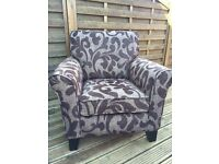 2 X Fabric Armchairs - Great Condition