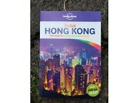 Hong Kong lonely planet travel book