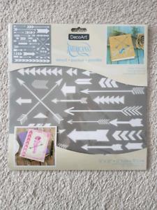 Arrow stencil sheet