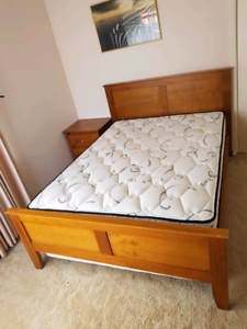 Stunning Double Bed and King Koil Mattress