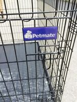 Large clean dog crate