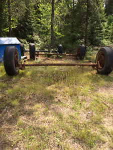 2 Dexter drop axles $600