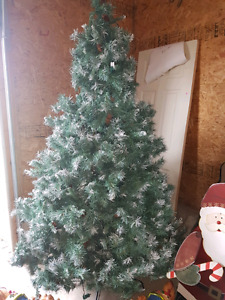 7' Blue Spruce Christmas Tree