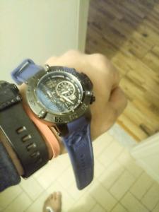 Invicta subaqua noma !!! Avec bracelet bleu