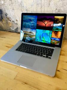 Apple MacBook Pro Core i7 Dual Graphics Quad Core