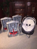 Graco Snugride 35 Classic Connect Infant Car Seat with 3 bases
