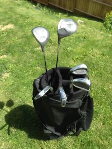 Mens LH Golf Clubs and Bag