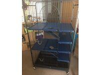 Chinchilla cage and start kits