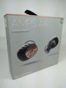 AMPS AIR IN-EAR SOUND ISOLATING BLUETOOTH HEADPHONES