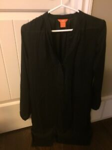 Black Tunic Dress - Size Small