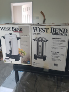 2 West Bend coffee urns for sale