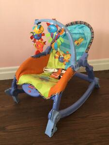 Fisher-Price Newborn-To-Toddler Rocker Chair