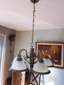 Kitchen and Dinning room light fixtures