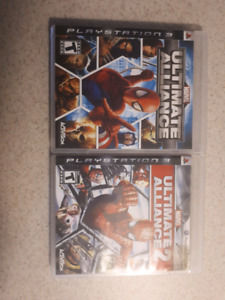 Ultimate Alliance 1 &2 for PS3 - HTF