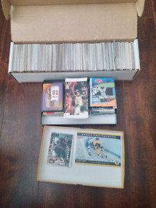 Tons of sports cards