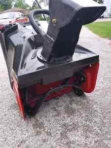 Winter is here.. used once craftsman snowblower