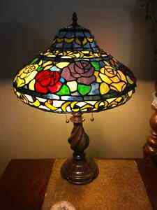 2 Stained Glass Lamps
