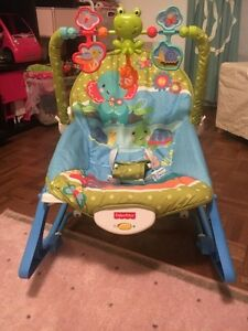 Swing and seat fisher price(Chaise bercante de 0 a 12 mois)