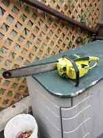 """Pioneer P25 16"""" Gas Chainsaw"""