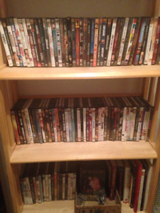 Lot of 500 DVDs New & Used