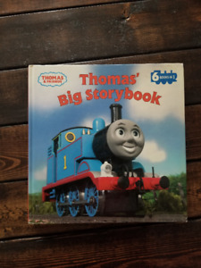 Thomas the Train Book, Puzzle and Bucket for sale.
