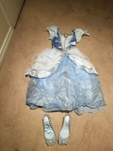 Disney Cinderella dress Size 5 - 6 and shoes 11 - 12