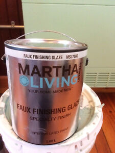 1 gallon unused Martha Stewart faux finishing glaze