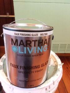 1 gallon unused Martha Stewart faux finishing glaze