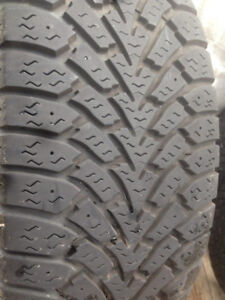 4 Goodyear  winter tires 225-55-17