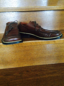Italian shoes brown color