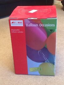 """Empty Disposable Helium Cylinder 50x9"""""""