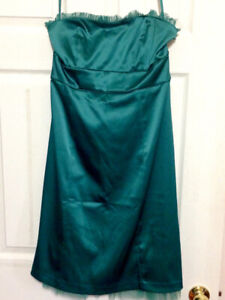 Strapless, Emerald Green, RW & Co. Dress for Sale (size 10)