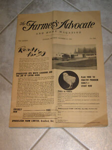 .....1949 ISSUE of THE FARMER'S ADVOCATE....