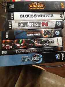 7 PC video games ALL for $29 - $29 (metrotown)