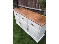 Up Cycled Solid Pine Sideboard/Dresser (Can Deliver)