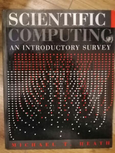Scientific Computing, an Introductory Survey