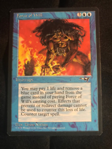 Magic: The Gathering Force of Will (Alliances)