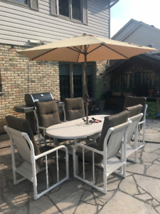 REDUCED!  Complete Backyard Patio Set