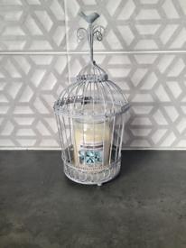 Next grey decorative birdcage