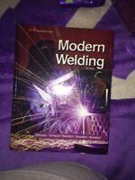 Modern welding textbook $180