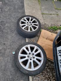 Octavia vrs alloy wheels 5x112